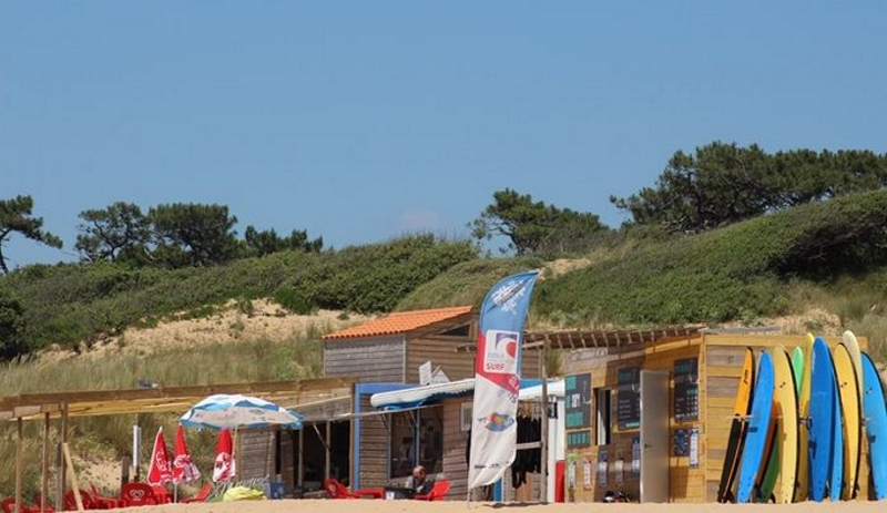 Vendée surf schools image call to action